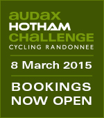 Audax Hotham Challenge 8 March Bookings Open